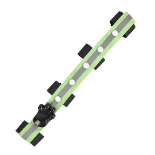 Outdoor Sports Riding Multifunctional LED Light Emitting DIY Strap (Green)