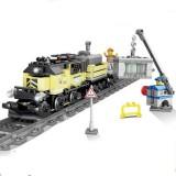 City Electric Rail Train Harmony Assembled High-speed Rail Building Blocks (Maersk Train)