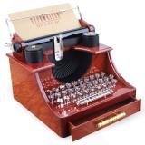 Birthday Girlfriend Retro Creative Teacher Day Typewriter Music Box