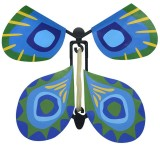 Magic Science Novelty Flying Butterfly Toy Magic Props (Blue)