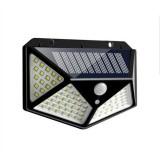 1 PCS 100 LEDs Outdoor Patio Solar Induction Wall Light Adjustable Balcony Garden Lighting Small Street Light