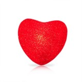 12cm Red Heart Indoor Decorative LED Night Light Romantic 3D Love Heart Valentine Day Wedding Party Decoration