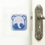10 PCS Mute Crash Pad Cartoon Thickened Wall Door Shock Pad (Blue Elephant)
