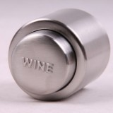 Push Stainless Steel Red Wine Stopper Champagne Stopper, Style: Red Wine Stopper