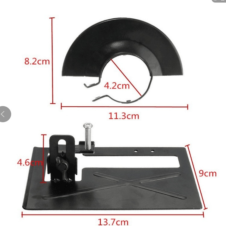 Angle Grinder Special Cutting Bracket Protective Cover Angle Grinder Cutting Machine Accessories, Model: Angle grinder guard
