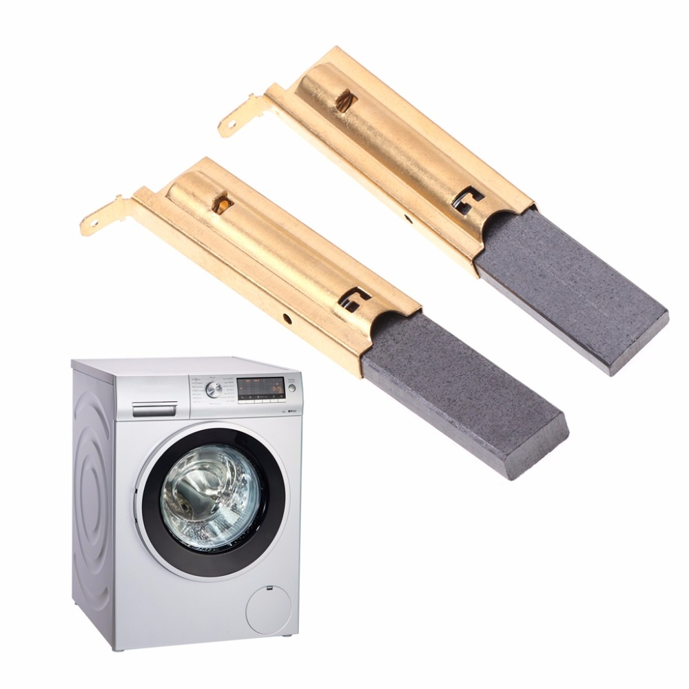 3 Pairs Washing Machine Motor Carbon Inserts Brushes L94MF7 for Siemens 5x13.5mm