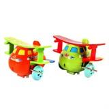 5 PCS Creative Children Clockwork Toy Cartoon Winding Dump Truck Small Toy, Random Color Delivery