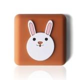 10 PCS Crash Pad for Wall Door Handle Silicone Cushion Pad (Rabbit)