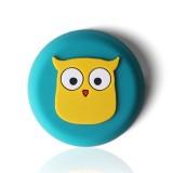 10 PCS Crash Pad for Wall Door Handle Silicone Cushion Pad (Owl)