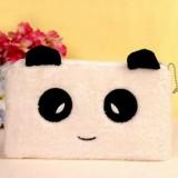 Plush Student Children Birthday Gift Makeup Change Stationery Pencil Bag (Panda GG)