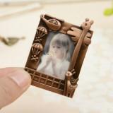 2 PCS Creative Metal Vintage Photo Frame (Fawn)