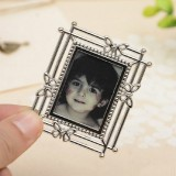 2 PCS Creative Metal Vintage Photo Frame (Butterfly Square)