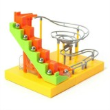 DIY Assembled Electric Track Ball Blocks Early Education Puzzle Children Building Blocks Toys (9922)