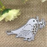5 PCS Birds Metal Cutting Dies Stencil DIY Scrapbooking Photo Album Decor Embossing Cards Making