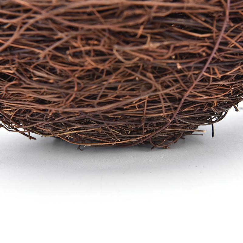 Rattan Nest Bird Bird Crafts Chicken Nest DIY Handmade Bird Nest Scene Props