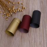 10 PCS Heat Shrinkable Film Wine Cap Rubber Cover for Red Wine Bottle Olive Oil Bottle Tea Oil Bottle, Random Color Delivery