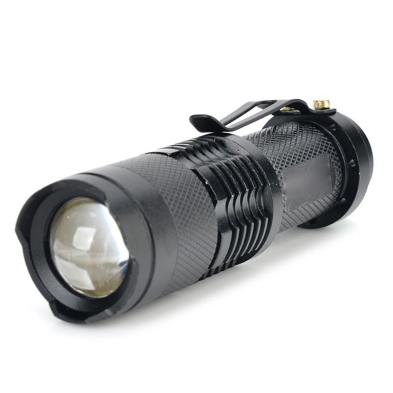 YWXLight LED Focusing Glare Outdoor Portable Mini Flashlight