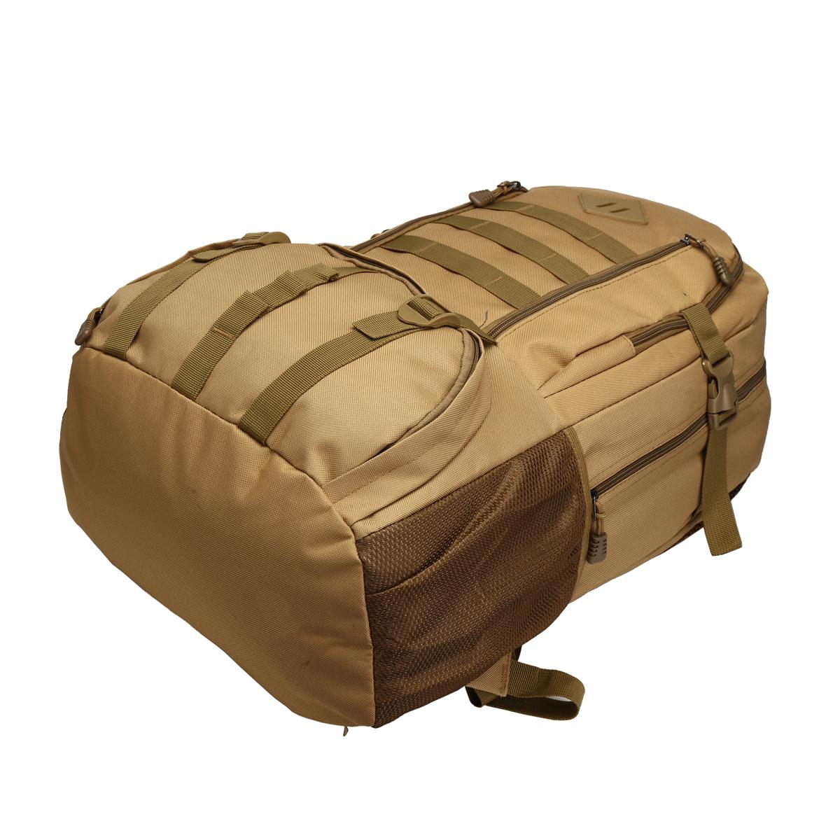 50L Tactical Climbing Bags Waterproof 16.5inch Laptop Bag Camping Travel Hiking Backpack Sport Rucksack