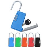 Zinc Alloy Portable Anti Theft Key Storage Box with 4-digit Mechanical Password Code Lock
