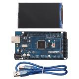 Geekcreit MEGA 2560 R3 ATmega2560 MEGA2560 Development Board + 3.5 Inch TFT Color Display 320×480 Screen