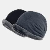 Winter Plus Fleece Hat Cotton Comfort Beanie Hat Multifunctional Windproof Warm Bib Hat