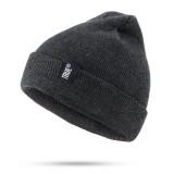 Unisex Warm Knitted Hat Ski Cap Pullover Wool Beanie Hat