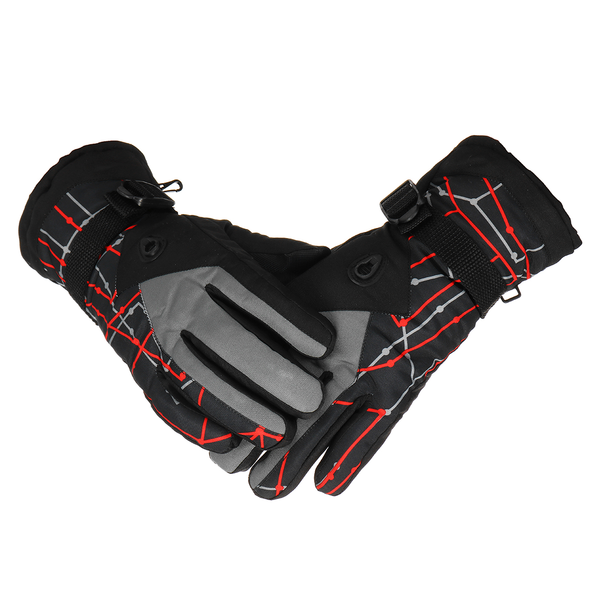 Winter Warm Velvet Gloves Touch Screen Waterproof Windproof Riding Cycling Skiing Climbing Gloves