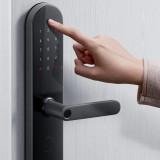 HomeKit Version Aqara N100 Smart Door Lock Fingerprint Bluetooth Password NFC Unlock Works with Mijia APP