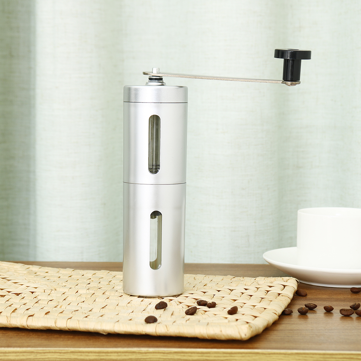 Stainless Steel Portable Hand Bean Mill Professional Manual Coffee Grinder Maker