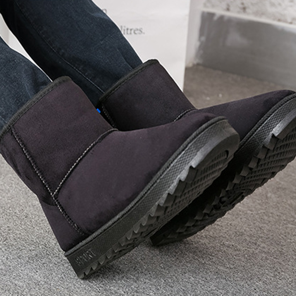 Electric Warm Heating Snow Boots Pads Winter Foot Warmer USB Rechargeable Shoes