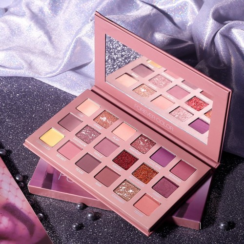 Eyeshadow 18 Colors Makeup Palette Shimmer Matte Pigmented Eye Shadow