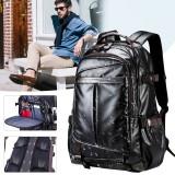 Men Women Waterproof Backpack Laptop School Shoulder Bag Travel Handbag Rucksack