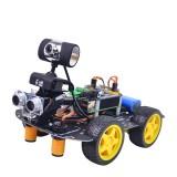 Xiao R GFS DIY Smart Programmable RC Robot Car Wifi Bluetooth APP/Stick Control With HD Camera Raspberry Pi 4B Board