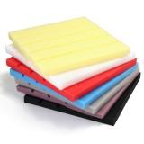 10pcs Sound-absorbing Cotton Foam 25x25x2cm Soundproof Cotton Shed Wall Muffler Sponge