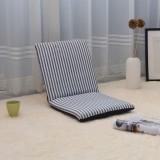 Adjustable 6-Position Folding Lazy Sofa Chair Floor Chair Seat Cushion Multiangle Home