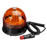 DC12-24V 40LED Magnetic Roof Rotating Flash Amber Beacon Strobe Tractor Warning Signal Light