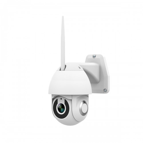 Outdoor Wifi Surveillance Camera H.264 Video Recording Infrared Night Vision IP66 Two-Way Voice Alarm Camera