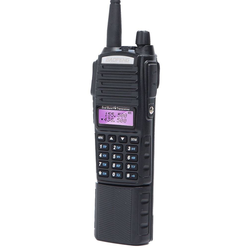 BaoFeng UV-82T Tri-Band VHF UHF 220-260Mhz Amatuer Two Way Radio Portable Ham Band Walkie Talkie Ham