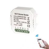 QS-WIFI-D02-TRIAC DIY Smart WiFi Light LED Dimmer Switch Smart Life/Tuya APP Remote Control 1/2 Way Switch Works With Alexa Echo Google Home