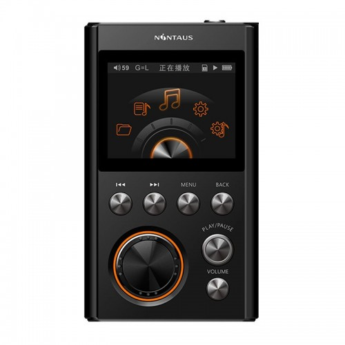 NiNTAUS X10S MP3 Hifi Player DSD64 2.0inch TFT Screen DAC WM8965 CPU 16GB Mini Sports Lossless HiFi Player