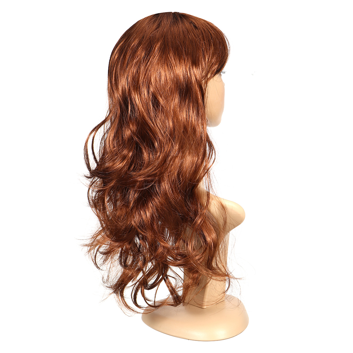 Long Curly Women Ladies Party Natrual Blonde 65 Cm Synthetic Hair Wig