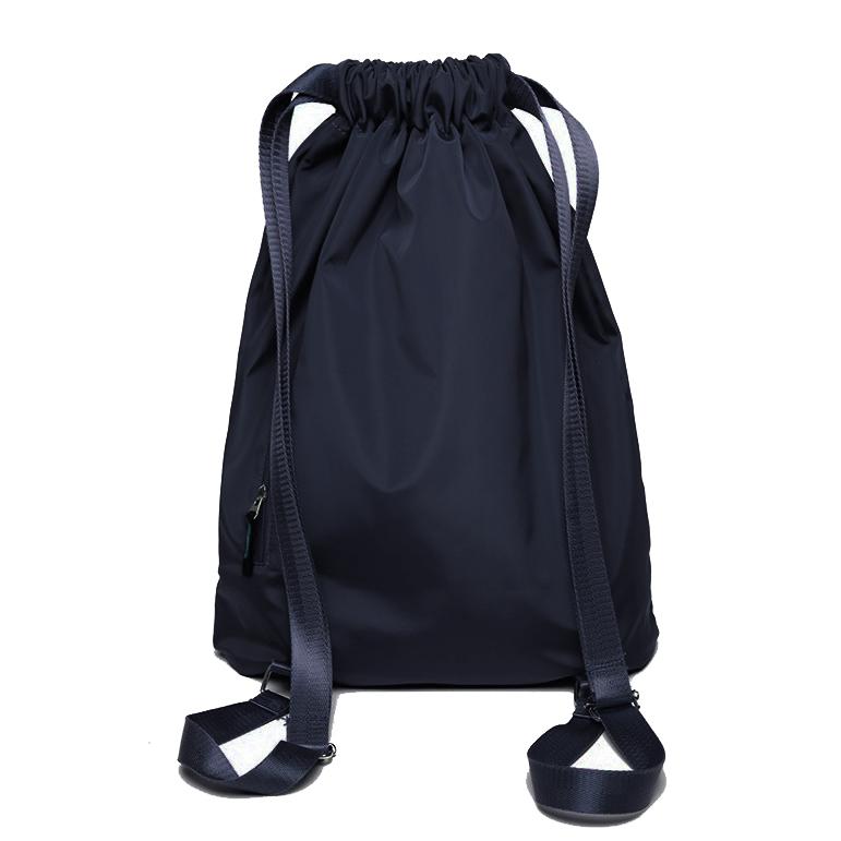 Nylon Portable Foldable Sports Gym Drawstring Bag Yoga Bag Outdoor Travel Hiking Backpack
