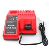 100-240V Replacement Battery Charger for Milwaukee 12V/14.4V/18V Li-ion Battery