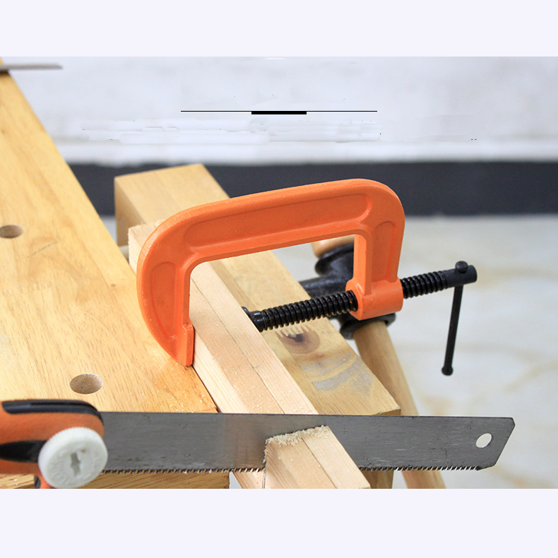 MYTEC G-Clamp Woodworking Fast F-Clamp Fixing Clamp Powerful Clamp Multifunctional Thickened C-Clamp