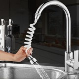 Stretchable Faucet Extender Water Saving Tap 360 Rotation Shower Head Water Filter Sprayer for Kitchen Bathroom