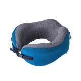 Naturehike U-shaped Pillow Travel Office Adjustable Nap Neck Pillow 50D Memory Foam Pillow