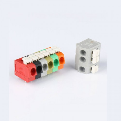 10PCS BEST 7 Pin Plug-in Brass Wire Connector Terminals LED Flame Retardant Terminal Block Connector