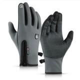 Winter Warm Thermal Gloves Non-slip Cycling Touchscreen Windrproof Waterproof Bike Glove