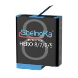 SheIngKa FLW-335 1220mAh 5.0Wh LiPo Battery For GoPro Hero 8/7/6/5 FPV Action Camera