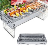 Folding BBQ Grill Portable Barbecue Grill Outdoor Traveling Camping Garden Stove Grill